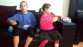 Slime Stories and Unboxing super funny from Super Duper Crazy Fun Sisters