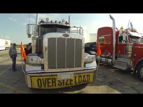 Caminhão do Canadense - Peterbilt 389