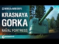 World Of Warships   Naval Fortress: Krasnaya Gorka