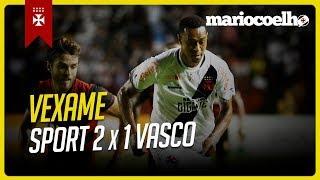 MAIS UMA VEXAME FORA DE CASA SPORT 2 X 1 VASCO | Notícias do Vasco Da Gama