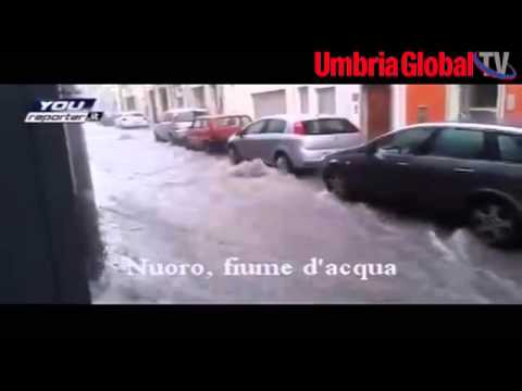"""CICLONE CLEOPATRA: LE IMMAGINI DELLA TRAGEDIA DA """"YOUREPORTER"""""""