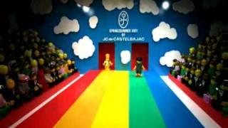 Thumb Desfile de Lego al estilo JC/DC Jean-Charles de Castelbajac
