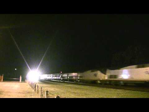 Folkston GA - Railfanning during a thunderstorm