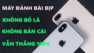 Điện thoại IPHONEX đánh bài cào bịp | MÁY ĐÁNH BÀI MÃ VẠCH MỚI NHẤT 2019