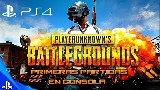 PUBG // PS4 // DOMINGO de BATALLAS