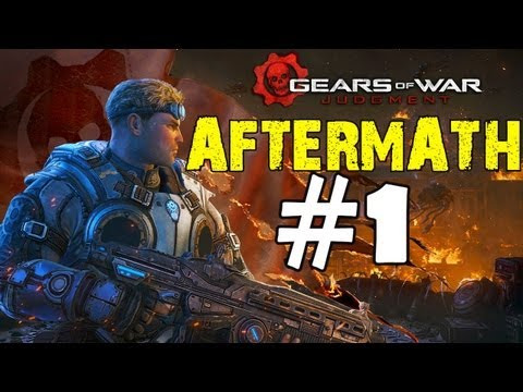 Gears of War Judgement Aftermath Walkthrough Part 1 Campaign Gameplay Review Lets Play HD XBOX 360