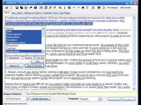 0 How to Increase website or Blog Traffic with The best article spinner software.wmv