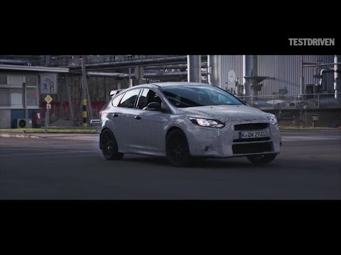 Ken Block Tests The 2016 Ford Focus Rs video