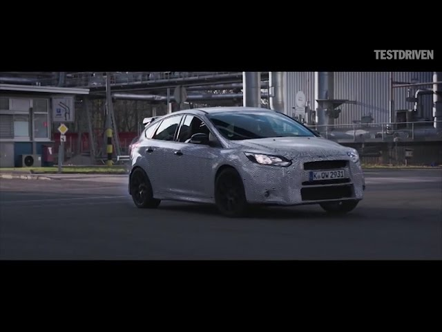 Ken Block tests the 2016 Ford Focus RS - YouTube