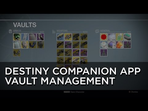 Destiny's Companion App is Finally Useful