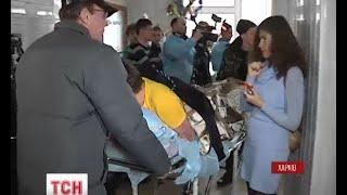 У Харків доправлено 72 бійця, які постраждали на Дебальцевському плацдармі - : 2:07 - (видео)