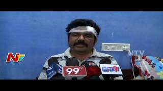 YCP Activists Assaulted Janasena Leader Chalamalla Srinivas Chowdary at Nandigama | NTV