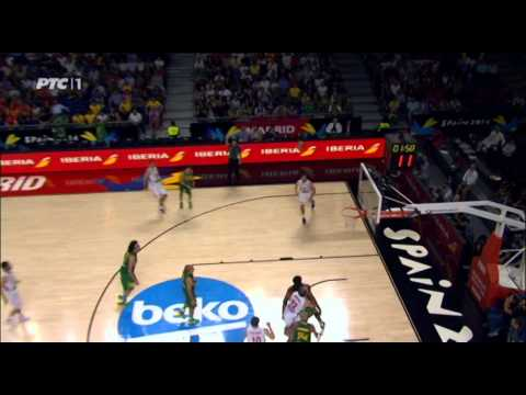 Srbija - Brazil 84:56 četvrtfinale svetskog prvenstva Španija 2014