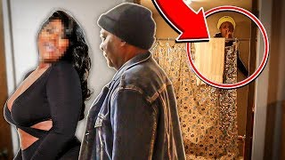 I Spent the Night in my Grandads House & He had No Idea... *HE GOT CAUGHT*