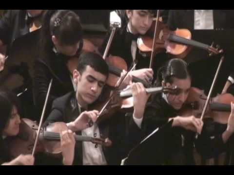 Waltz by Gara Garayev - State Youth Symphonic Orchestra of Azerbaijan
