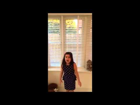 Sophia Grace sings Beyonce - Listen |with music|