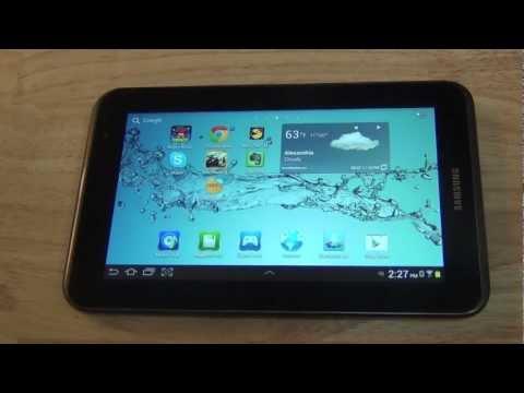 Que Aplicaciones hay en el Samsung Galaxy Tab 2 7.0 de jose