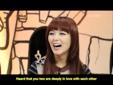 [ENG SUB] Sunye being asked about Mr.Jjinta on HELLO Talkshow