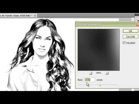 Transformando Foto em Desenho 2 - Photoshop CS 5