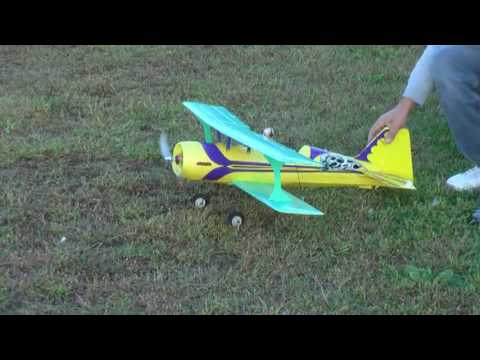 Pitts S12 Aerobatic Biplane EPO RTF from Hobby King - part 1