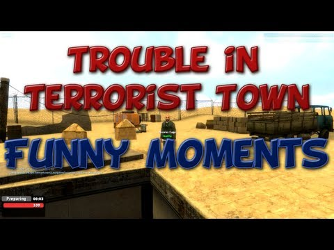 TTT Funtage #2 :D - Funny Moments in Trouble in Terrorist Town
