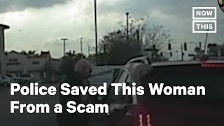 Cop Saves Woman From Scam After Stopping Her for Speeding | NowThis