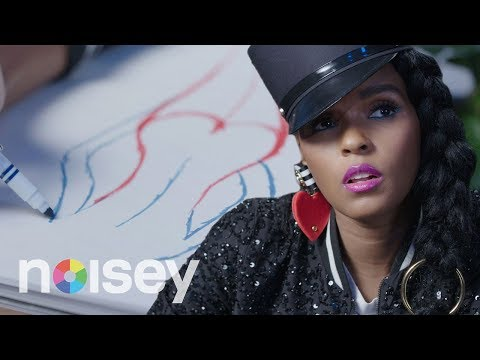 Janelle Monáe Draws Her Self-Portrait as 'Dirty Computer'