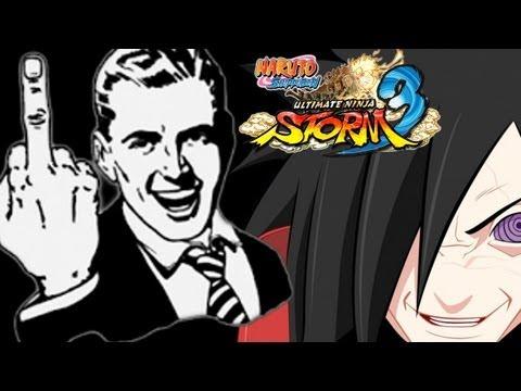Naruto Storm 3: Madara Kills Tsunade