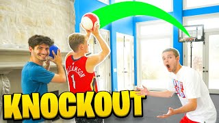 MINI HOOP BASKETBALL KNOCKOUT w/ 2HYPE