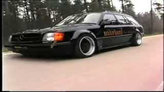 mariani Car-Styling *Tuning* Werbefilm 1992 Mercedes W124 BMW 5er etc.
