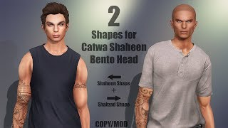 Catwa Shaheen Bento Head + My Shapes in Second Life