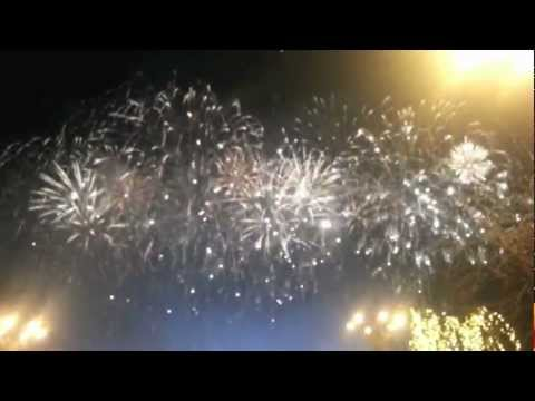 Bucharest - New Year Fireworks 2013 (HD)