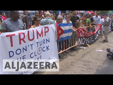 Trump unveils new restrictions on Cuba travel and trade