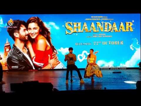 Shaandaar Movie (2015) - Alia Bhatt - Shahid Kapoor - Music Launch - Mithibai College !!!