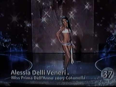 Alessia Delli Veneri,Top 5 a Miss Italia 2009.HD