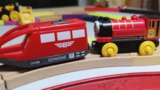 Colors for Children, to Learn with, Thomas and Friends Trains, Brio Subway Tunnel Toy,