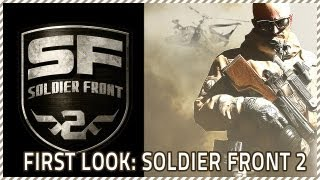 [CSF2] Soldier Front 2 First Look Impressions and Gameplay