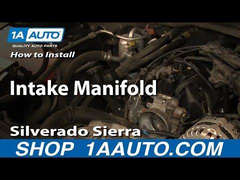 How To Install Replace Intake Manifold 2000-06 5.3L Silverado Sierra Suburban Tahoe Yukon