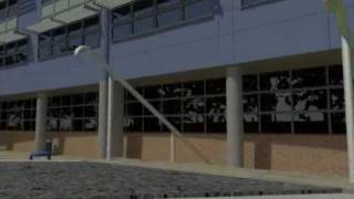 Virtual tour of Canterbury College (final year project)