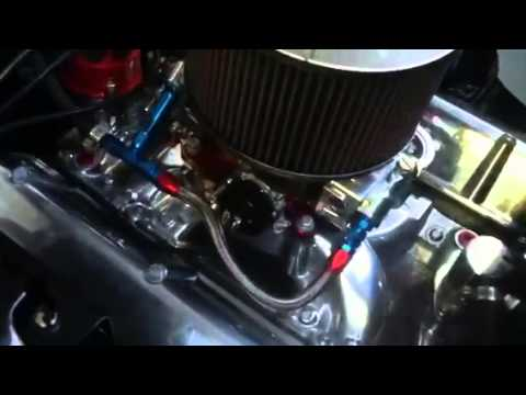 496 big block Chevy engine in a baja oulaw