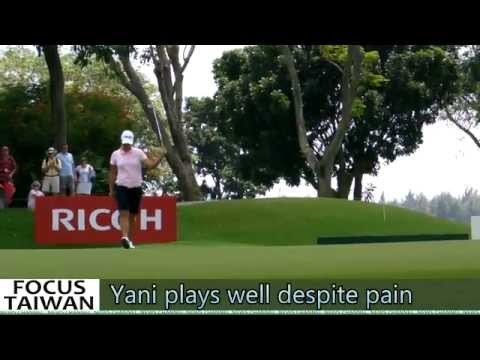 Yani Tseng plays well despite pain.m2t