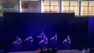 """Acrodance, """"Keep Flying"""" - Concorso """"A circle for life"""" 2019, categoria danza modern junior"""