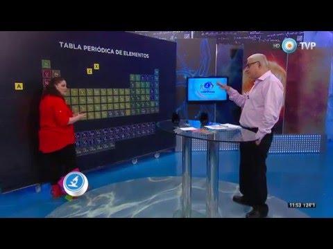 Científicos Industria Argentina - Tabla periódica de los elementos (1 de 2)