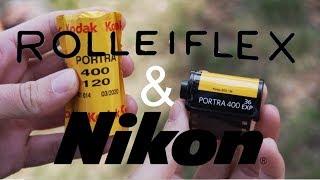 Portra 400 on Medium Format & 35mm