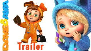 Miss Polly Had a Dolly - Trailer | Kids Songs and Nursery Rhymes in English from Dave and Ava