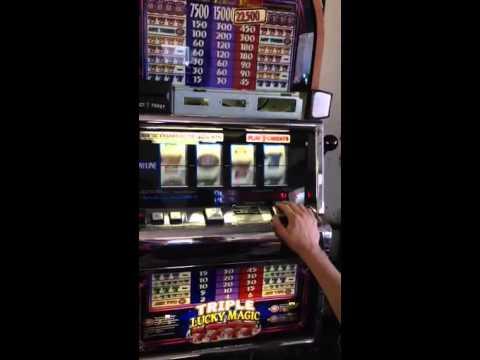 triple double lucky 7 slot machine