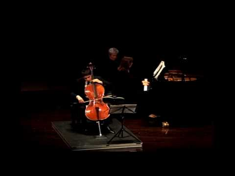 Brahms: Sonata in F Major for Cello and Piano, Op. 99, Mvt. I
