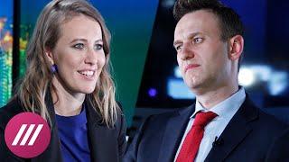 Как Собчак копирует кампанию Навального
