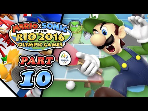 Mario & Sonic at the Rio 2016 Olympic Games: Part 10 - Table Tennis (2-Player)