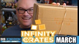 Infinity Crates March Unboxing - Funko Pop Vinyls